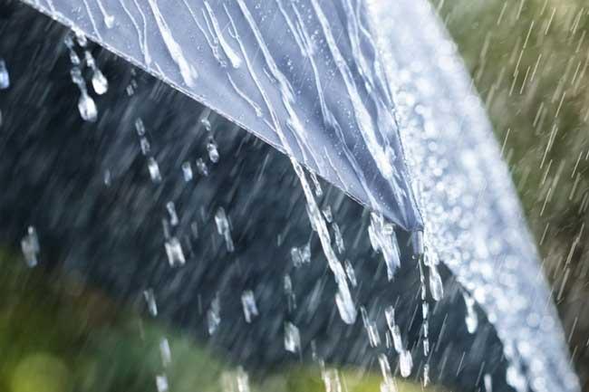Today weather report - අදත් දිස්ත්රික්ක කිහිපයකට විටින්විට වැසි