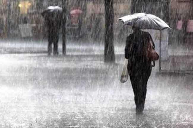 Today weather forecast - අදත් දිස්ත්රික්ක කිහිපයකට තද වැසි