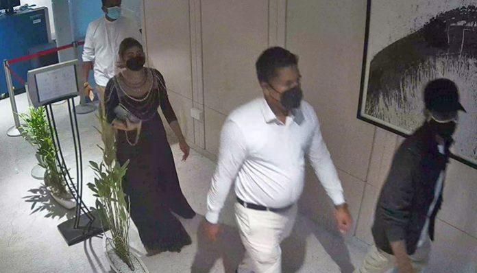 Chandimal jayasinhe and Piyumi hansamali - චන්දිමාල්ගේ උපන්දින සාදය දවසේ සම්පූර්ණ CCTV දර්ශන මෙන්න (VIDEO)