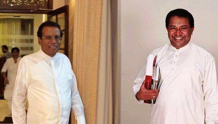 Maithiripala and SB